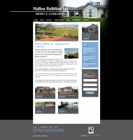 Check out Mallon Builing Ltd's newly renovated website